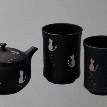 Набор для чая Кошки